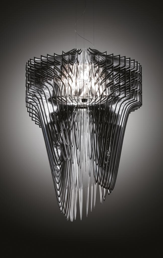 Slamp citco zaha hadid collections in the new miami for Zaha hadid lamp