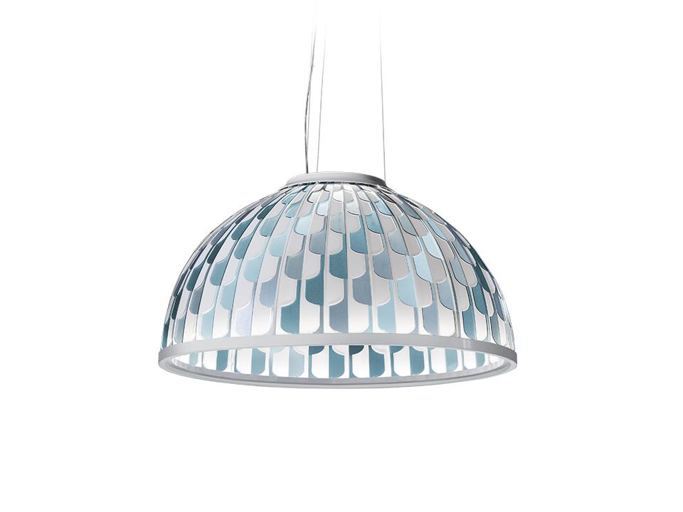 Dome - Lampade a Sospensione - colore: blue