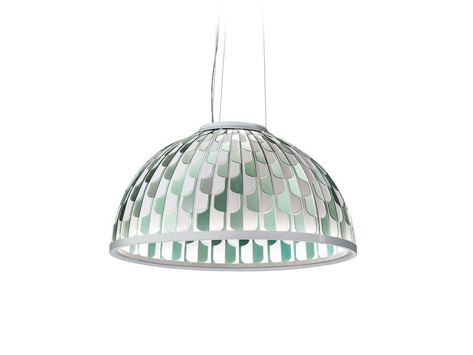Dome - Lampade a Sospensione - colore: green