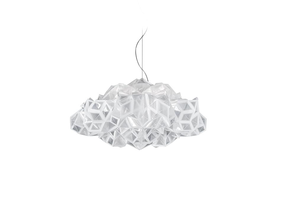 Drusa Suspension - Lampade a Sospensione - colore: white