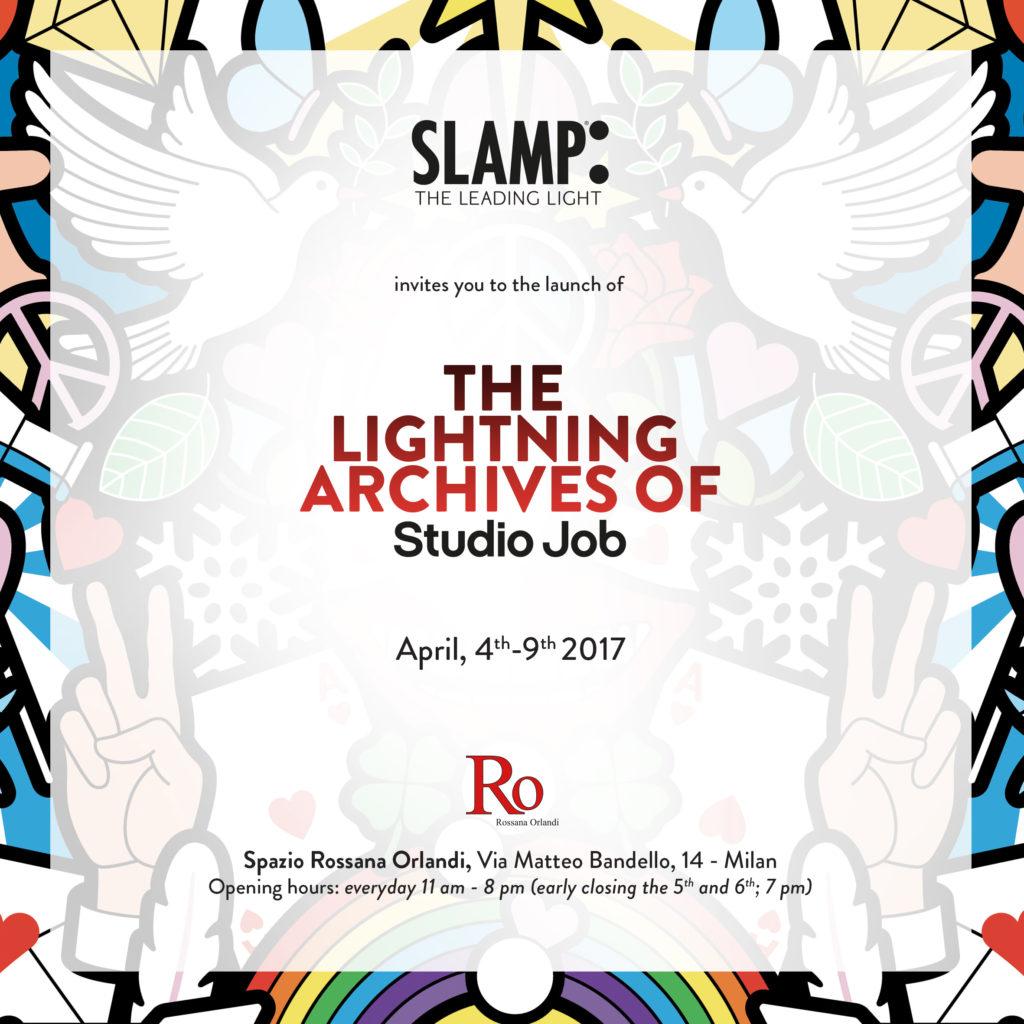 Studio Job für Slamp: die neue Kollektion zu sehen bei Spazio Rossana Orlandi