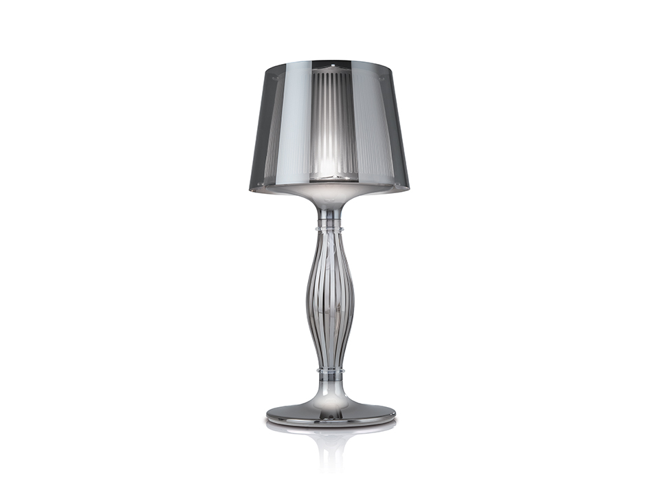 Liza - Table Lamps - colour: Pewter