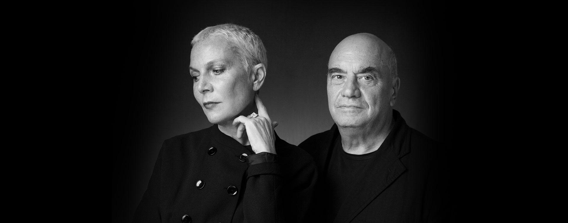 Doriana et Massimiliano Fuksas