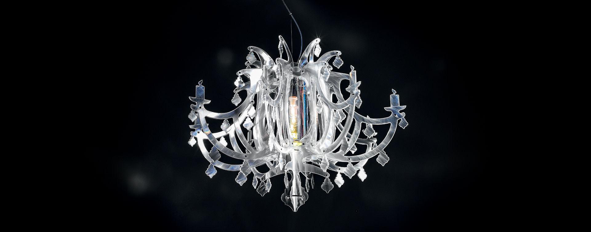 Ginetta Prisma Suspension Lamp Slamp