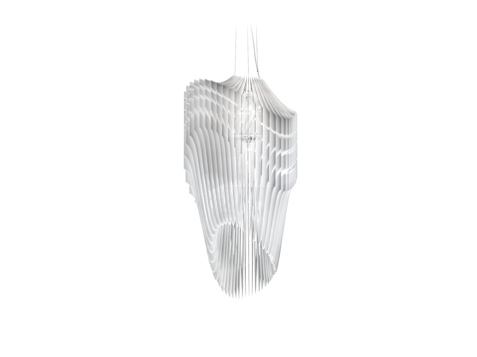 Avia - Lampes a Suspension - couleur: White