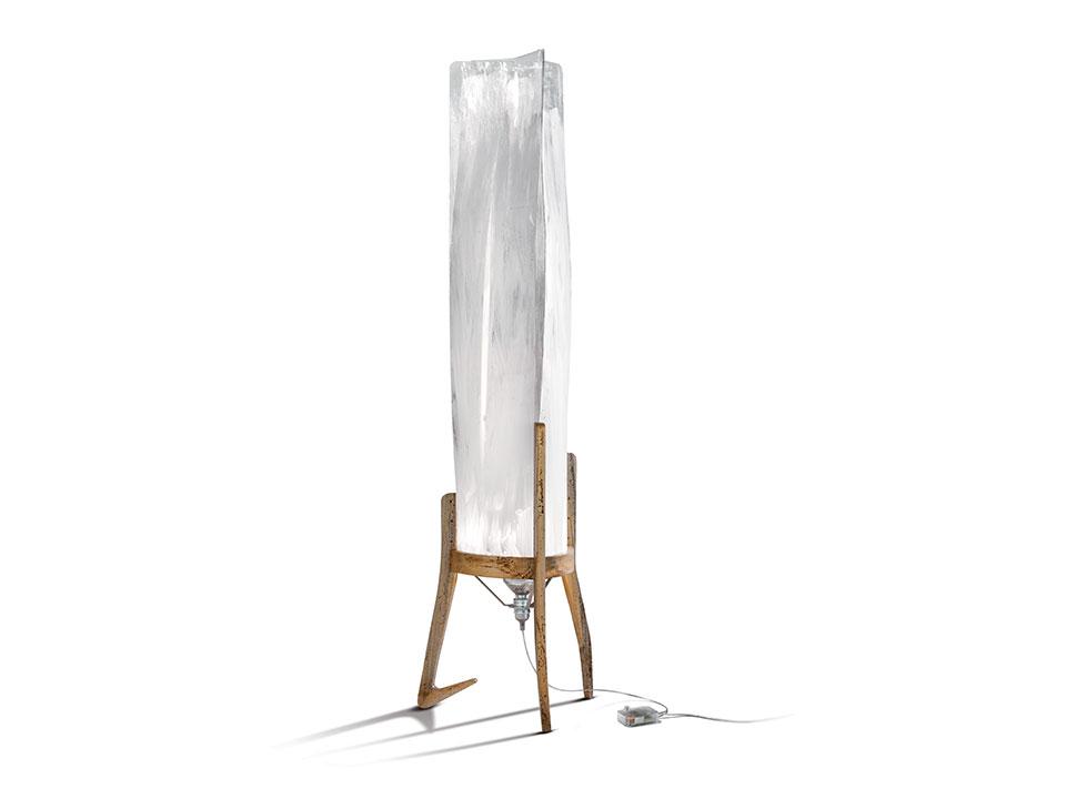 Battista - Lampes de Terre/Table - couleur: fumé