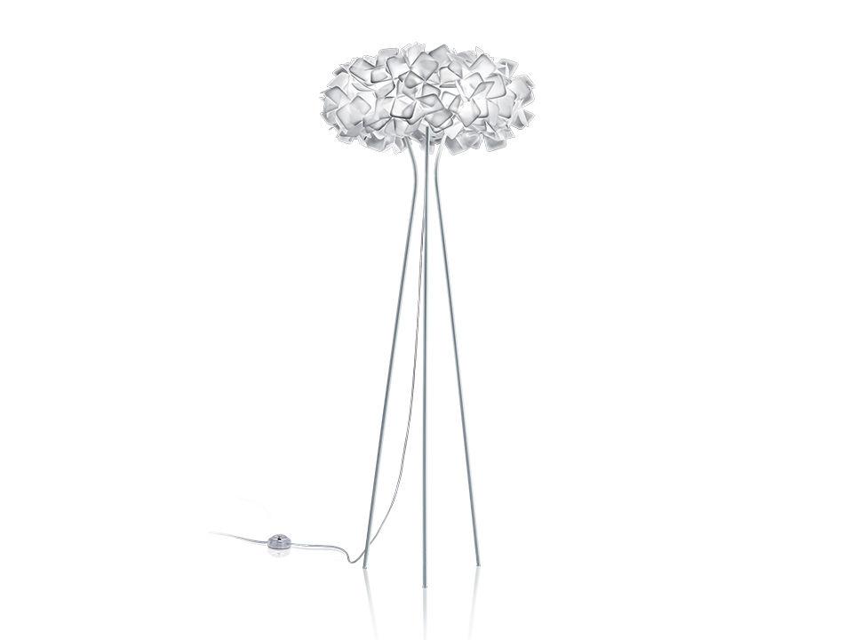 Clizia floor - Lampes de Terre/Table - couleur: white