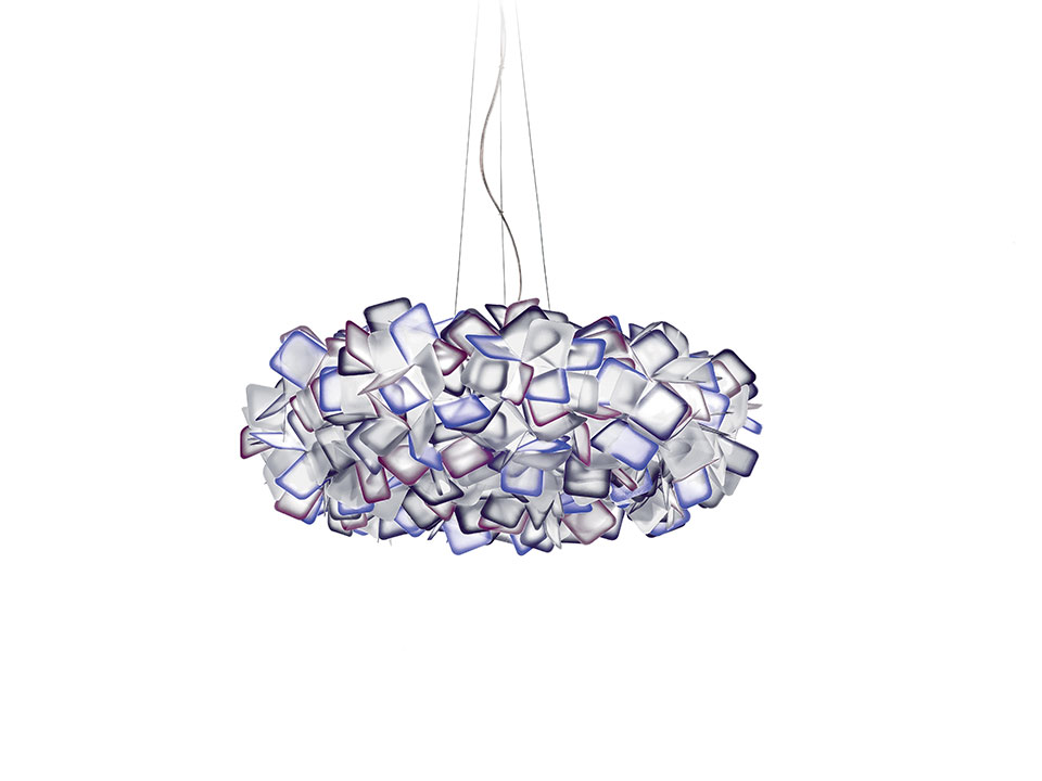 Clizia Suspension Large - Lampes a Suspension - couleur: purple
