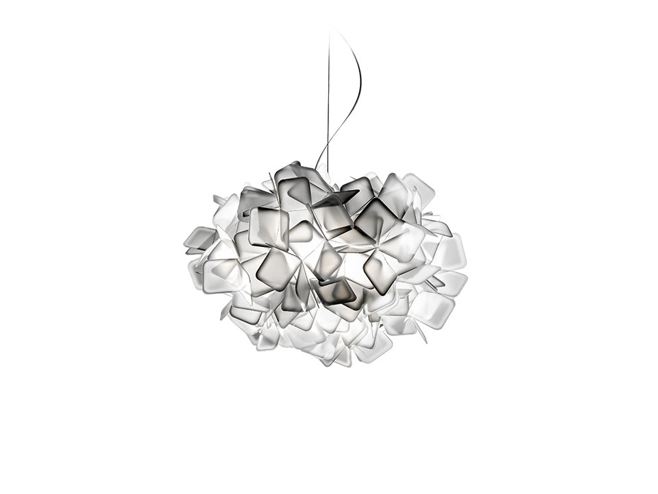 Clizia Suspension - Suspension Lamps - colour: white