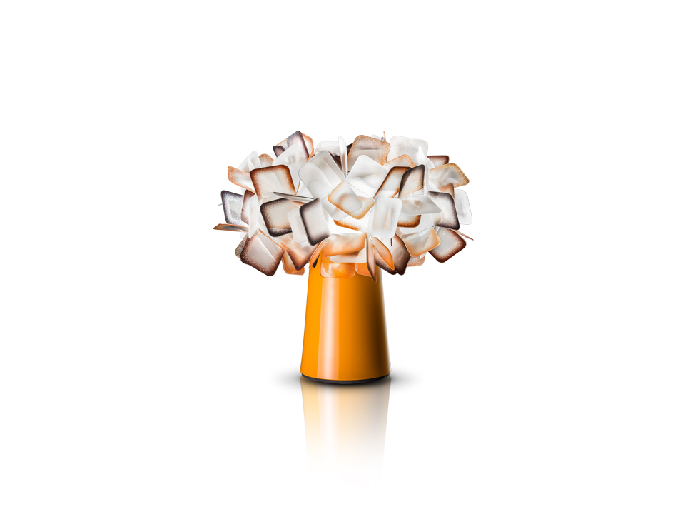 Clizia Table - Lampes de Terre/Table - couleur: orange