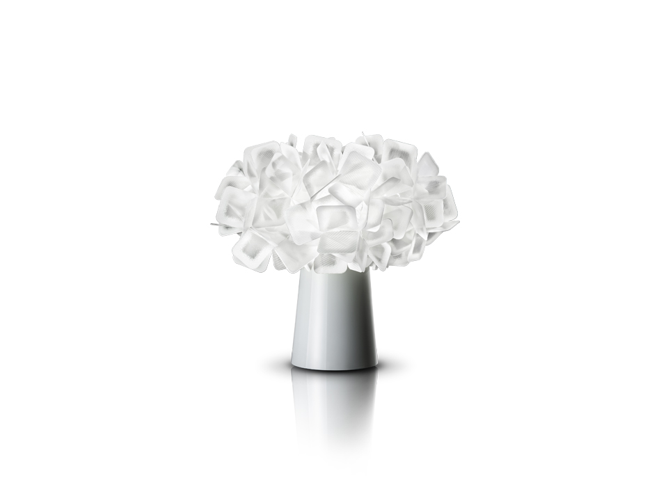 Clizia Table - Table Lamps - colour: white