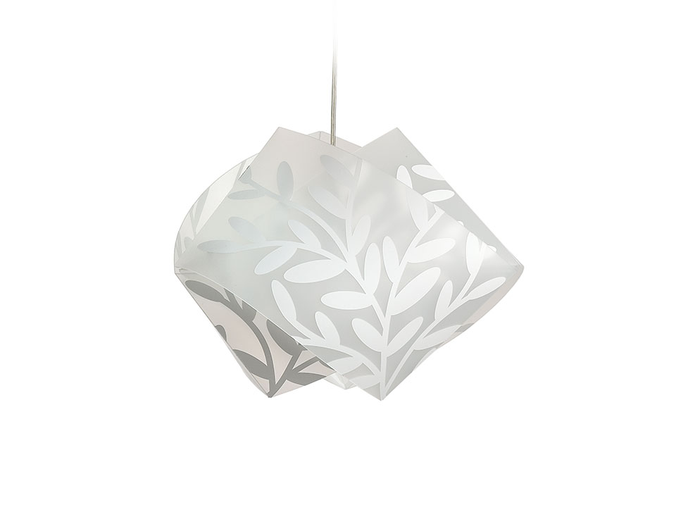 Dafne Suspension - Lamparas de suspension - colour: hyperwhite effect