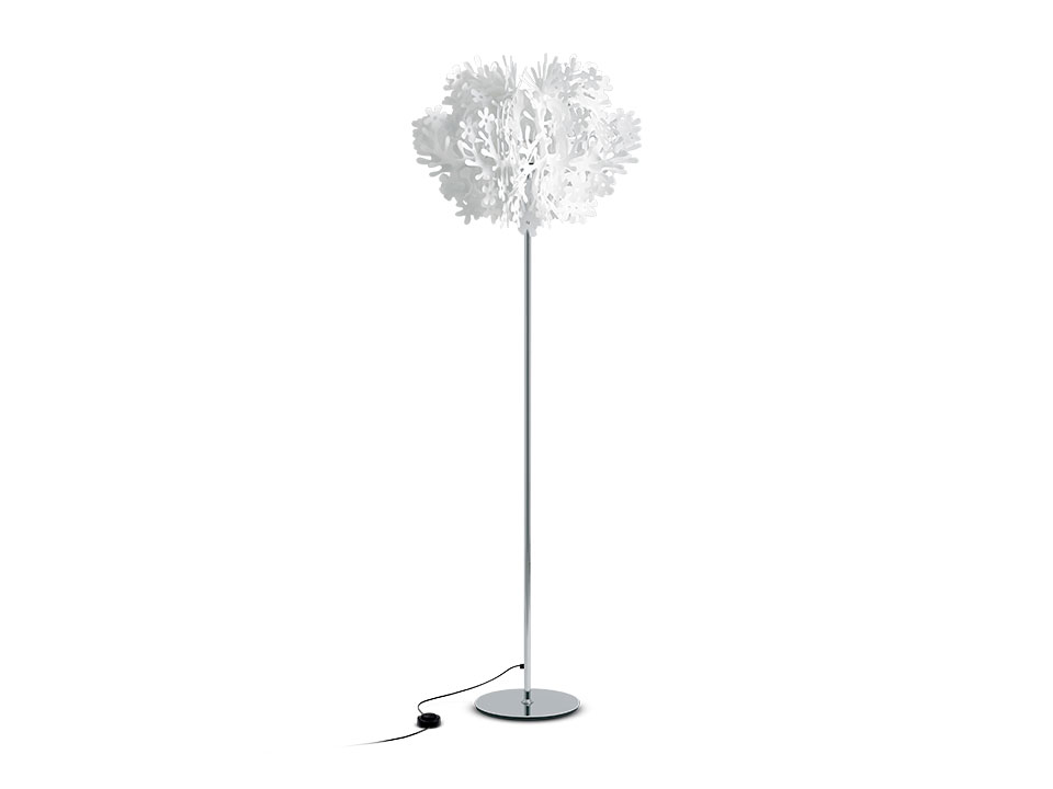 Fiorella Floor - Floor/Table Lamps - colour: white
