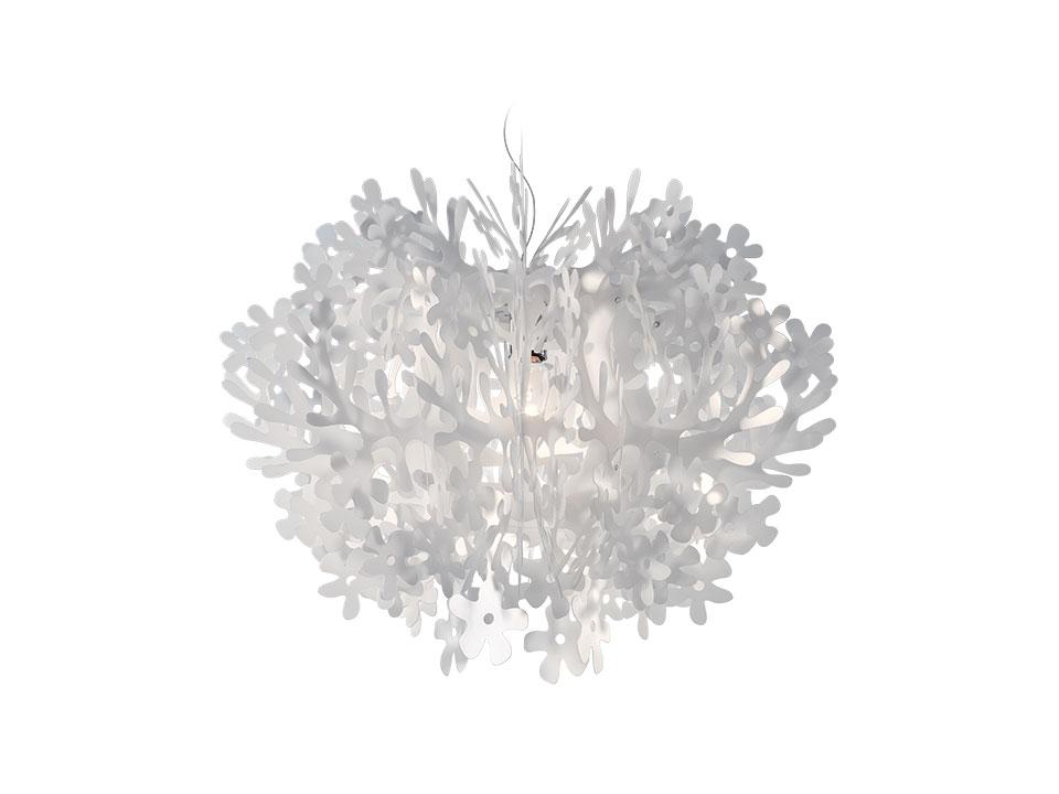Fiorella Mini - Suspension Lamps - colour: white