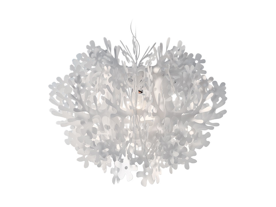 Fiorella - Suspension Lamps - colour: white