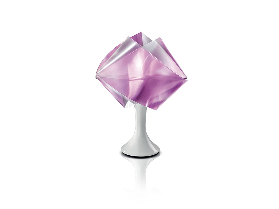 Gemmy Prisma Table Color - Lampara de Pie/Mesa - colour: amethyst