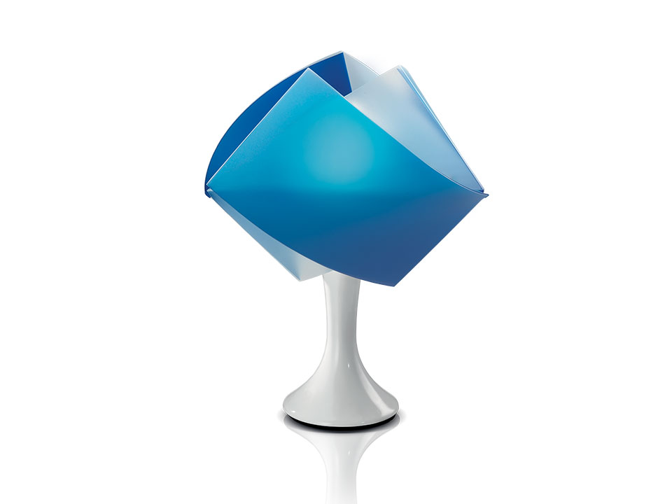 Gemmy Table - Table Lamps - colour: blue