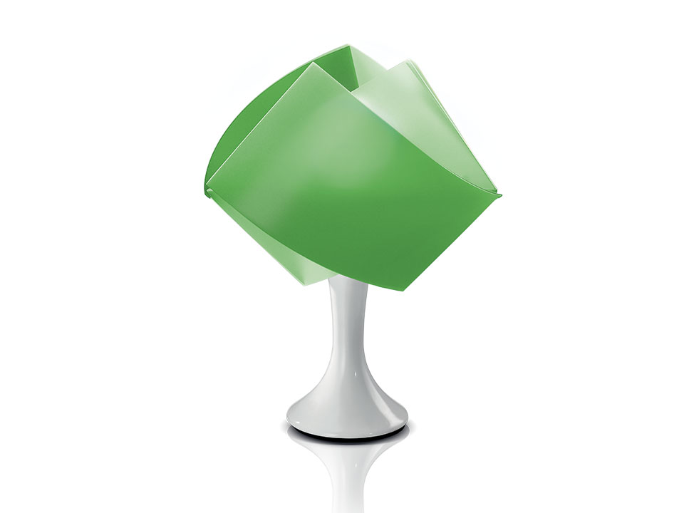 Gemmy Table - Table Lamps - colour: green
