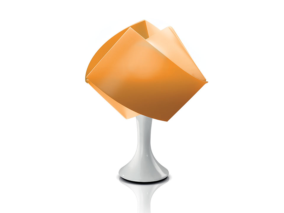 Gemmy Table - Table Lamps - colour: orange