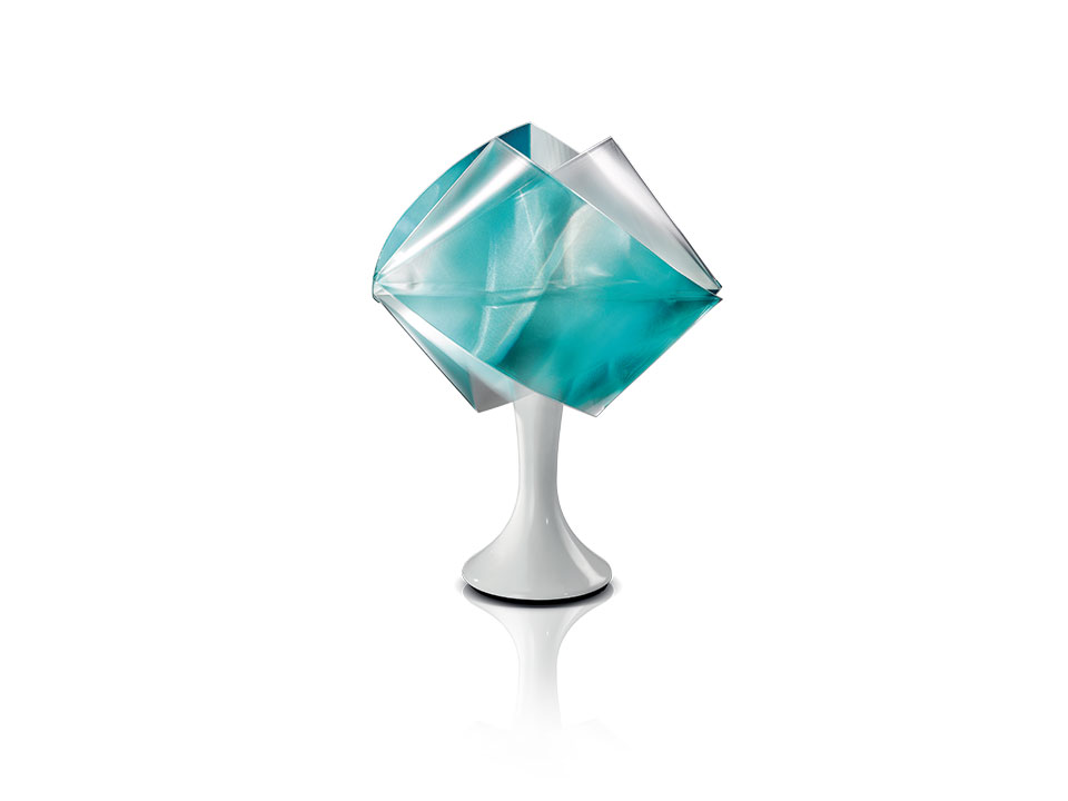 Gemmy Prisma Table Color - Lampes de Terre/Table - couleur: emerald