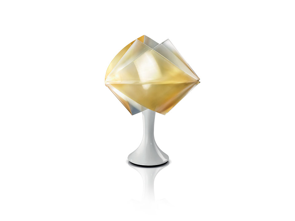 Gemmy Prisma Table Color - Lampara de Pie/Mesa - colour: gold