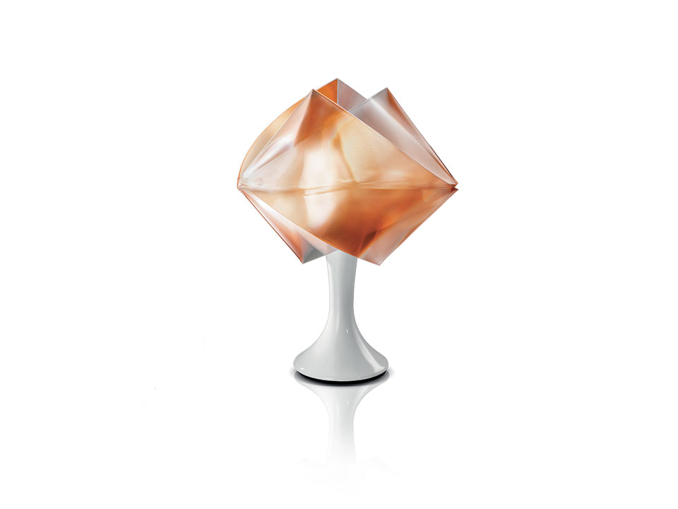 Gemmy Prisma Table Color - Lampara de Pie/Mesa - colour: amber