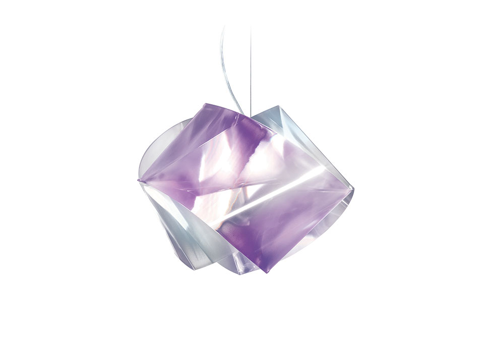 Gemmy Suspension Prisma Color - Haengeleuchte - farbe: amethyst