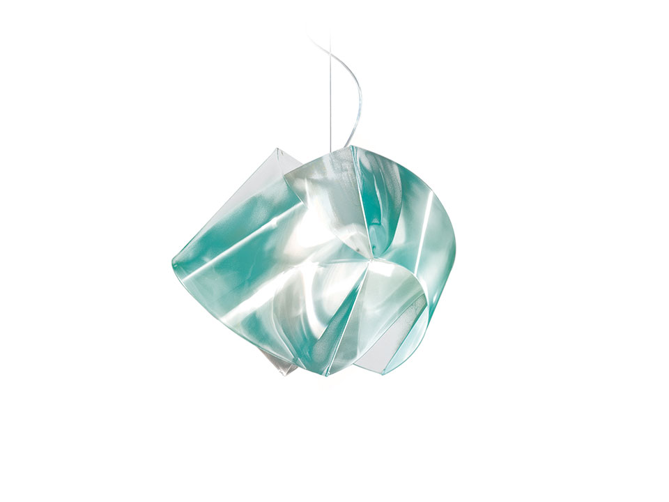 Gemmy Suspension Prisma Color - Lamparas de suspension - colour: emerald
