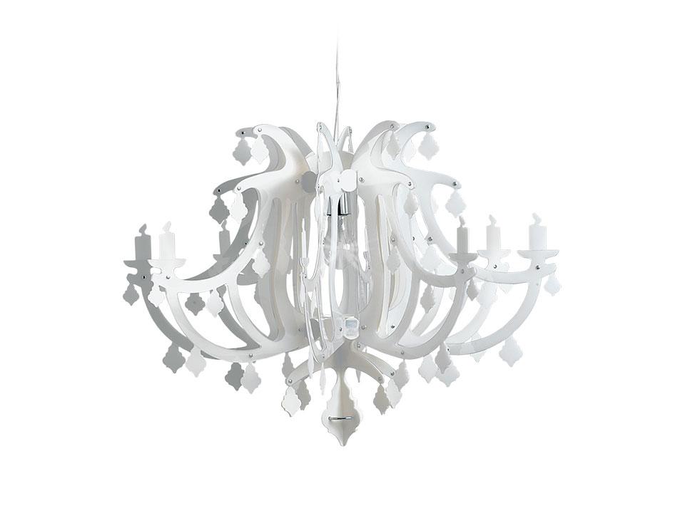 Ginetta - Suspension Lamps - colour: white