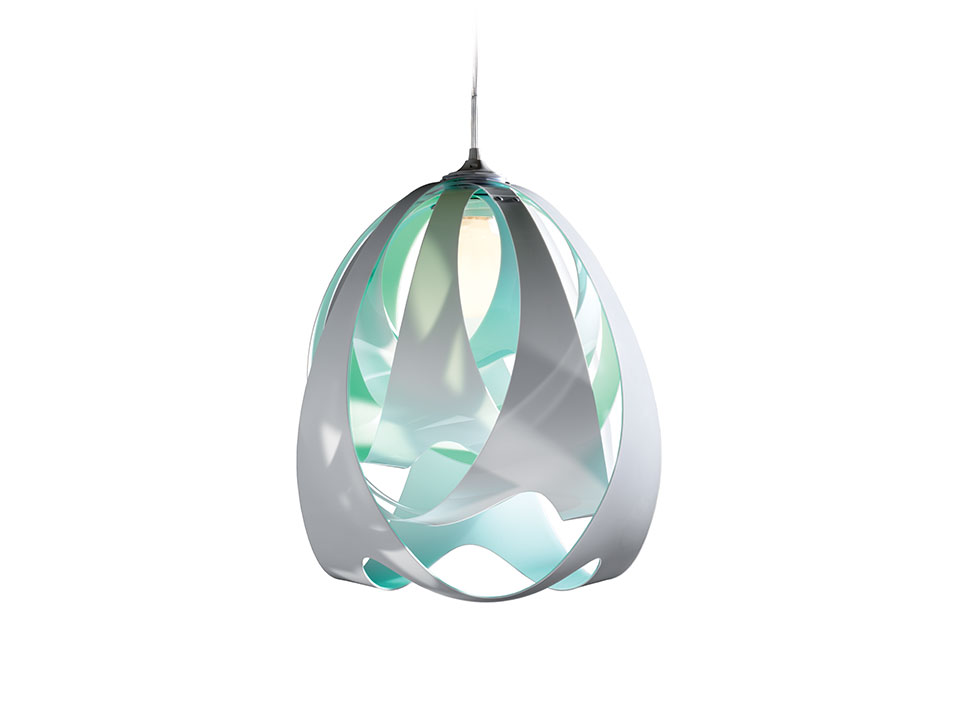 Goccia - Lampes a Suspension - couleur: aqua