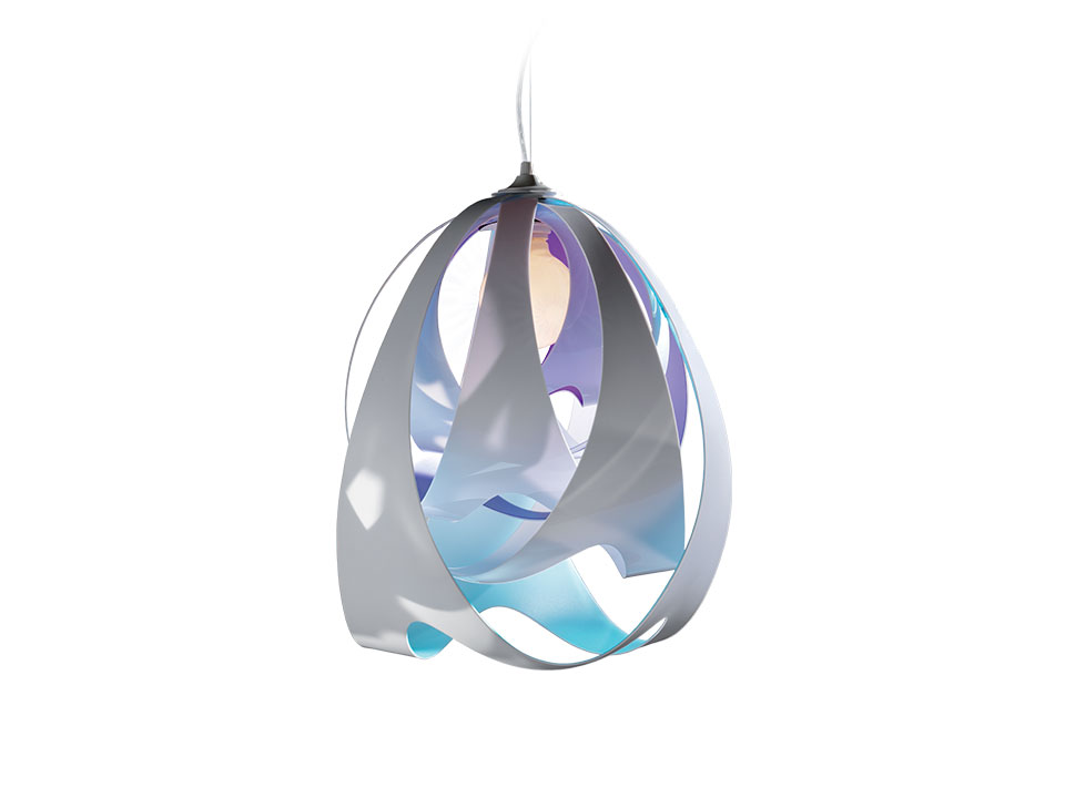 Goccia - Lampes a Suspension - couleur: opal