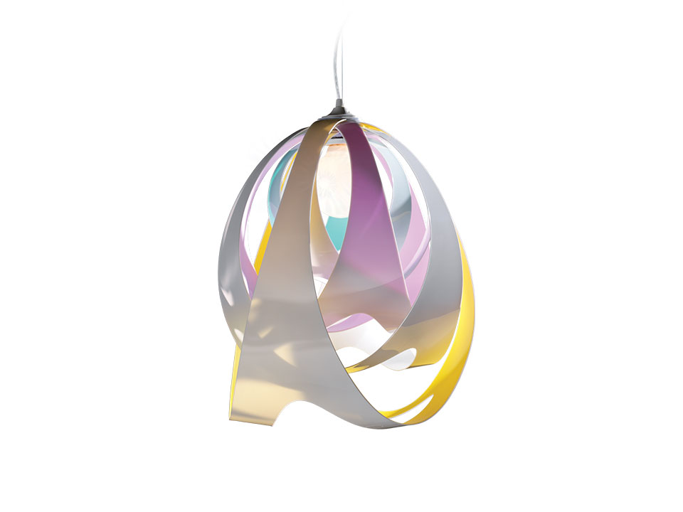 Goccia - Lampes a Suspension - couleur: tetra
