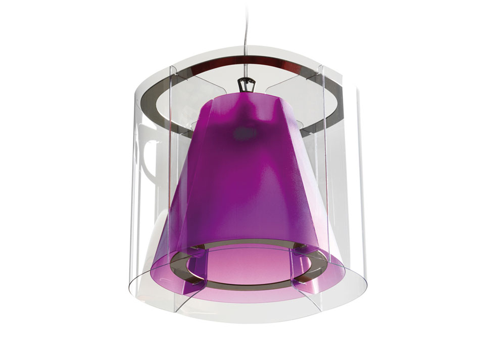 Harris - Lamparas de suspension - colour: amethyst