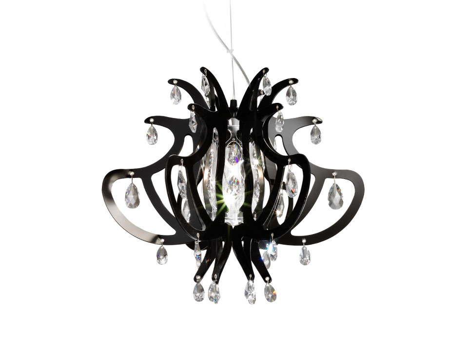 Lillibet Mini - Lamparas de suspension - colour: black