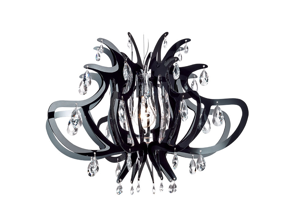 Lillibet - Suspension Lamps - colour: black