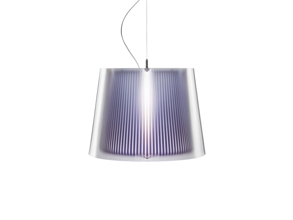 Liza Suspension - Lamparas de suspension - colour: purple