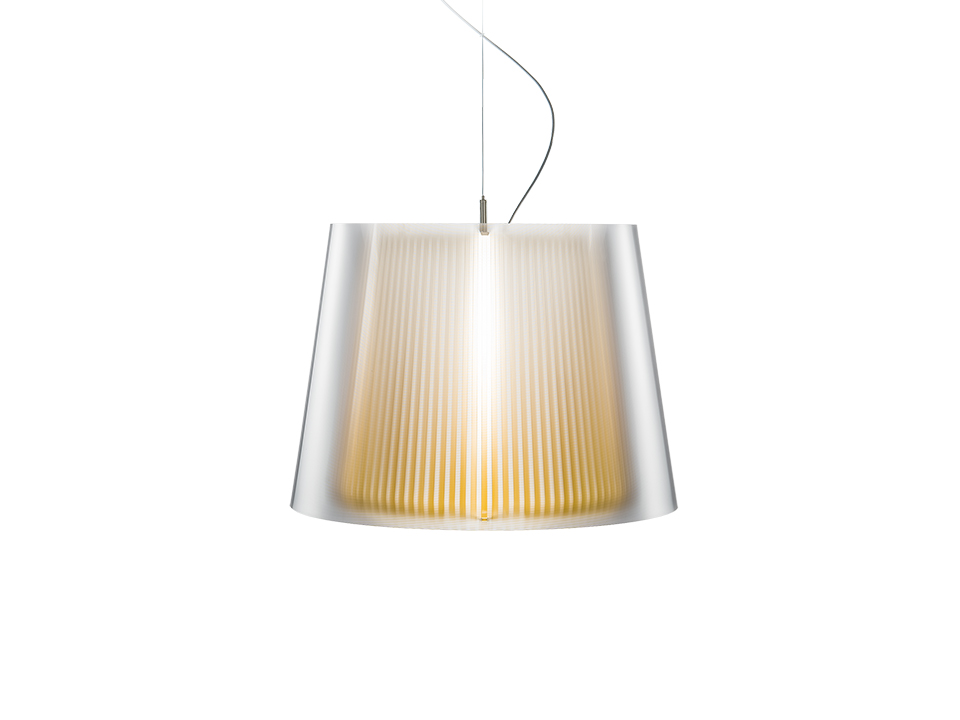 Liza Suspension - Lampes a Suspension - couleur: yellow