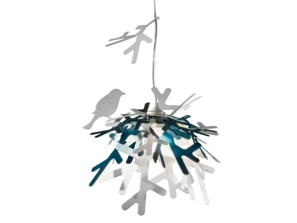 Luì - Suspension Lamps - colour: blue