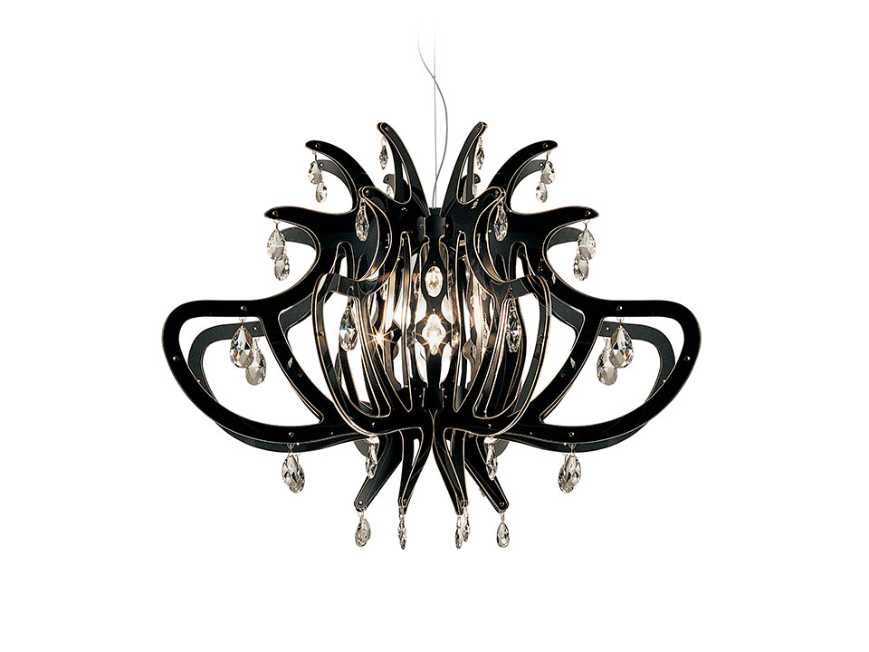 Medusa - Suspension Lamps - colour: black