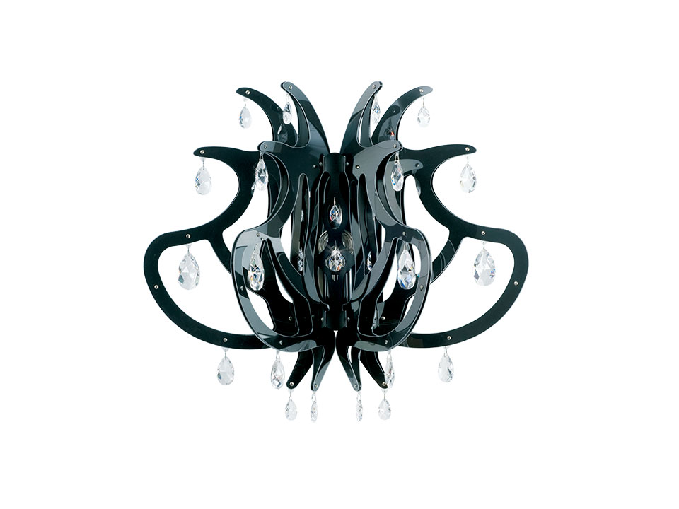 Medusa Wall black color