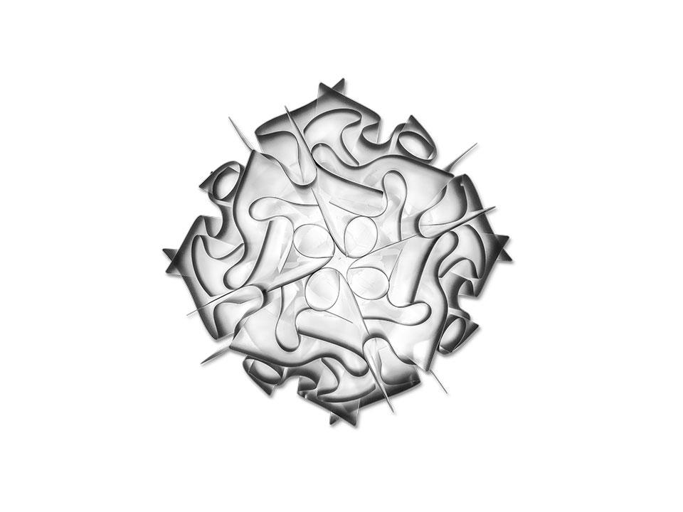 Veli - Lampade a Soffitto/Parete - colore: charcoal
