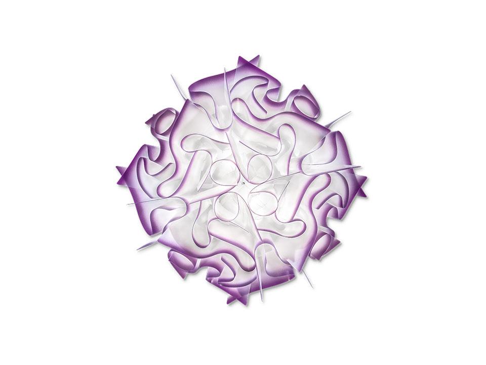Veli - Lampade a Soffitto/Parete - colore: plum