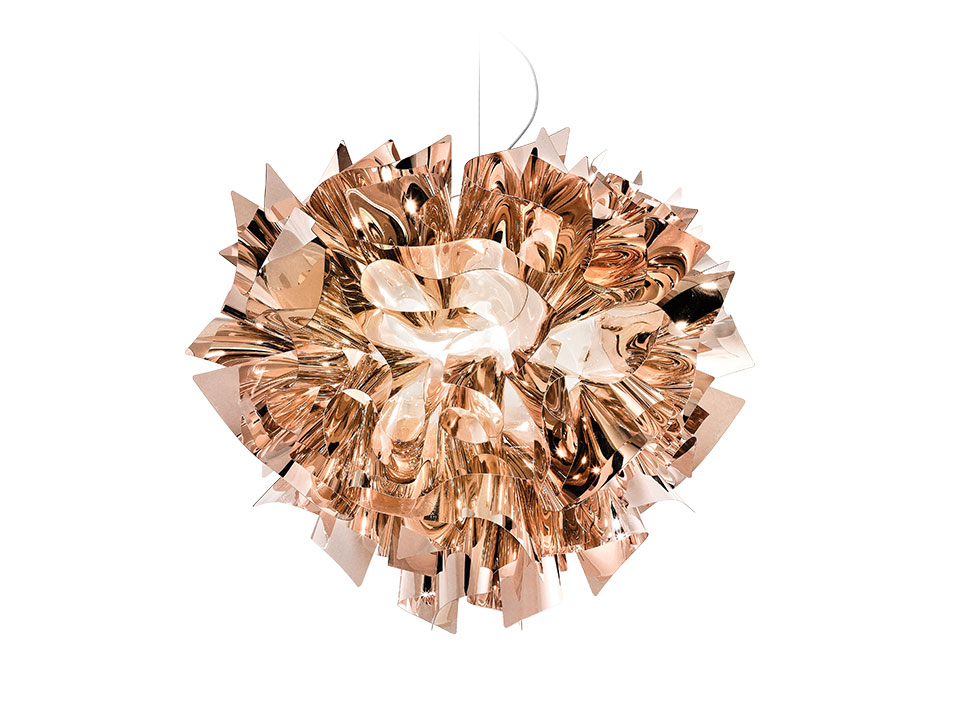 Veli Suspension Gold, Silver and Copper - Lamparas de suspension - colour: copper