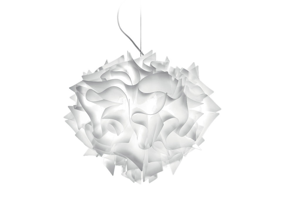 Veli Suspension - Lampes a Suspension - couleur: white
