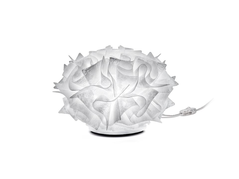 Veli Couture Table Ø32 - Lampade da Terra/Tavolo - colore: texturized white