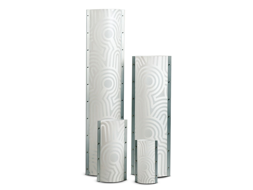 Venti Tubes - Floor/Table Lamps - colour: white