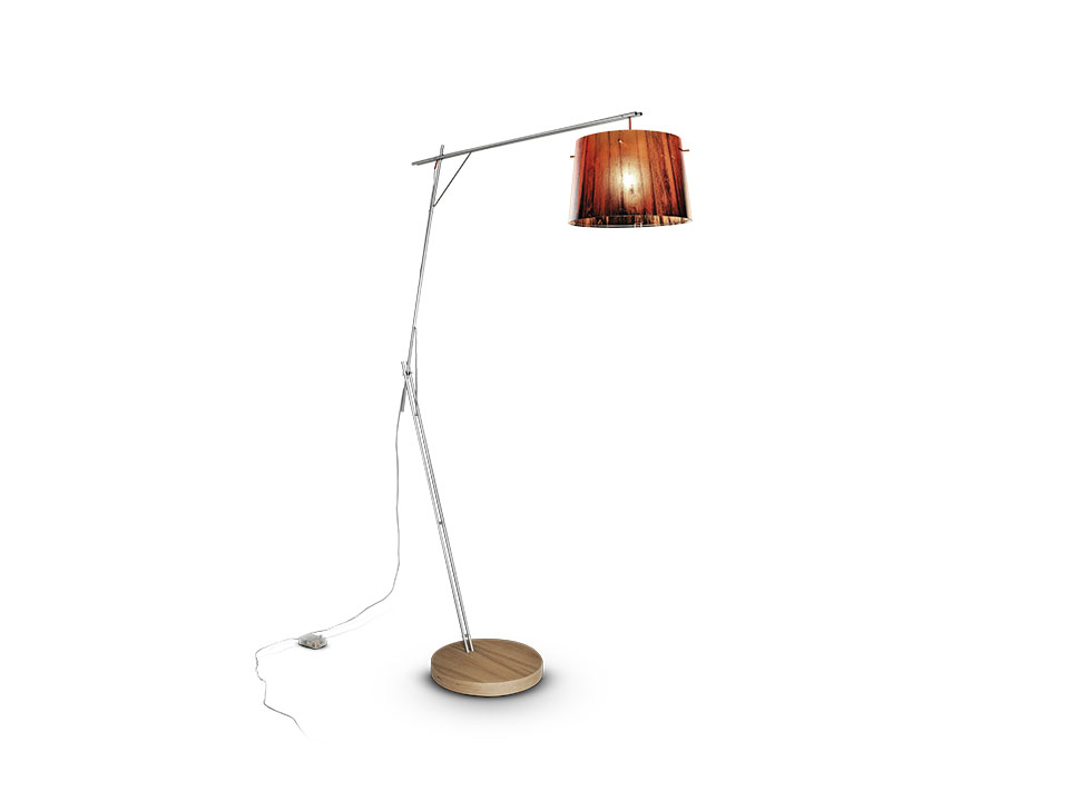 Woody - Floor/Table Lamps - colour: orange