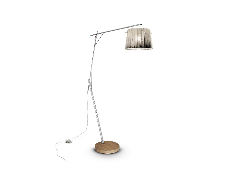 Woody - Floor/Table Lamps - colour: white