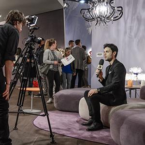 Euroluce 2015 – Luca Mazza interview